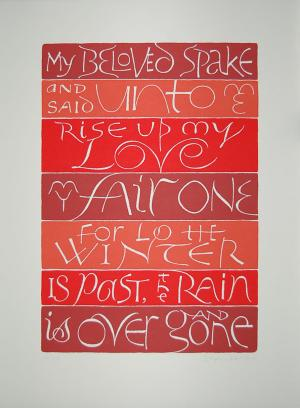Stephen Raw's song of solomon print